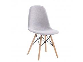 Jídelní židle DARELA NEW - světle šedá