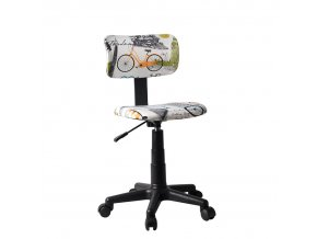 Otočná židle KIDS - látka vzor