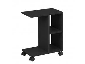 Příruční stolek ABBAS NEW - černá