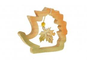 Ježek dřevěný dekorační KLA280