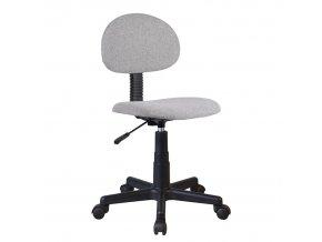 Kancelářská židle SALIM - černá / šedá