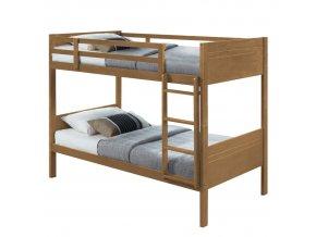 Patrová postel MAKIRA - dub