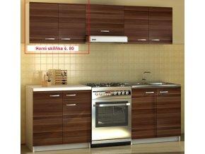 Kuchyňská skříňka Sonia - horní skříňka š. 80 cm - II. jakost