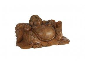 Dřevořezba Buddha BD5-30X10