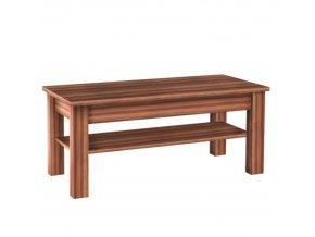 Konferenční stolek CHERIS 9 - švestka / šedý grafit