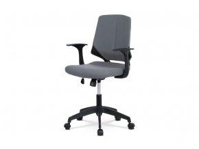 Kancelářská židle KA-R204 GREY - šedá látka