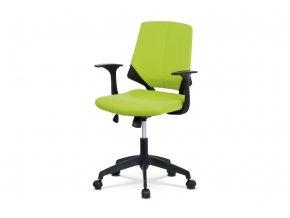 Kancelářská židle KA-R204 GRN - zelená látka