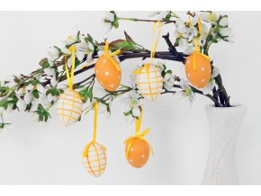Vajíčko oranžové VEL5034