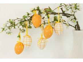 Vajíčko oranžové plastové VEL5028