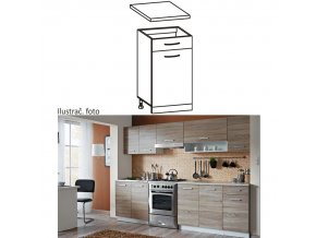 Kuchyňská skříňka CYRA NEW D1S-40