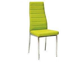Jídelní židle F-261 zelená