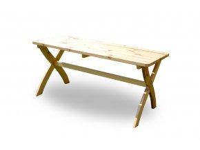 Stůl STRONG MASIV přírodní - 150 cm