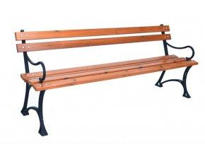 Parková lavice + područky - FSC