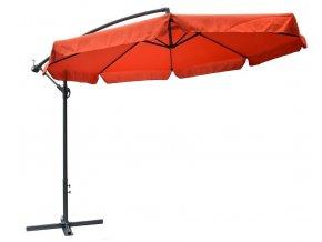 Slunečník Exclusive boční 300 cm - teracota