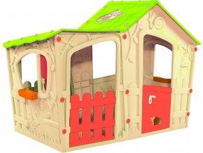 Domeček MAGIC VILLA PLAY HOUSE - béžový