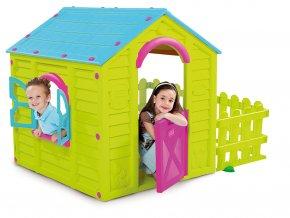 Domeček MY GARDEN HOUSE - zelený