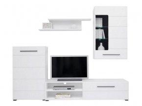 Obývací stěna Lena - bílá Alba