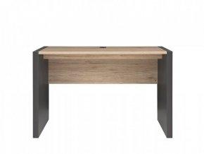 Psací stůl Executive BIU/120 - Šedý wolfram/Dub San Remo světlý