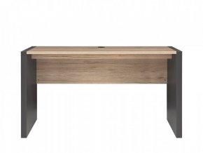 Psací stůl Executive BIU/160 - Šedý wolfram/Dub San Remo světlý