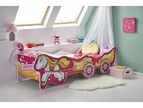 Dětská postel CINDERELLA