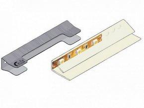 Osvětlení do vitríny Holten REG1D1W - neutrální