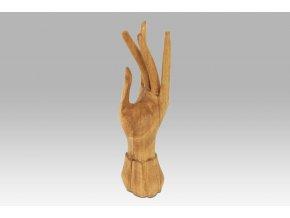 Dřevěná ruka na prstýnky TAKSU39