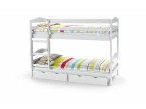 Patrová postel Sam - bílá