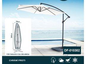 Ochranný obal na slunečník 300-400 cm