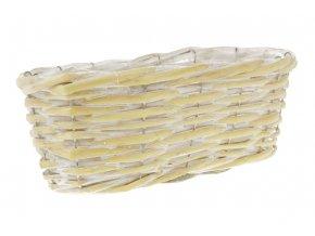 Proutěný truhlík - žlutý AB2092-YE