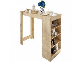 Barový stůl Austen - dub sonoma