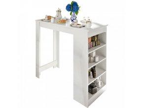 Barový stůl Austen - bílá