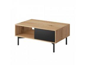Konferenční stolek FORSO FL 102 - dub/černá