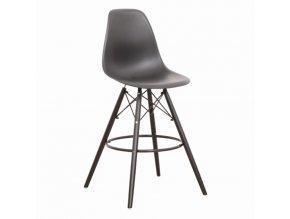 Barová židle CARBRY NEW - černá