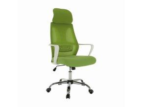 Kancelářské křeslo TAXIS, zelená / bílá