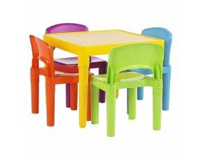 Dětský set 1+4 ZILBO, vícebarevný