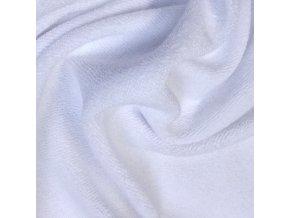 Froté prostěradlo 140x70 cm - bílé
