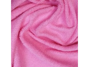 Froté prostěradlo 140x70 cm - růžové