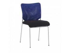 Konferenční židle ALTAN - modrá/černá