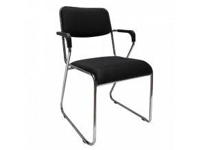 Konferenční židle DERYA - černá