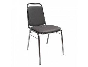 Zasedací židle ZEKI - šedá