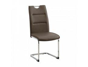 Jídelní židle TOSENA - hnědá