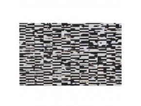 Luxusní koberec KOŽA typ6 141x200 - typ patchworku