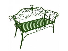 Zahradní lavička ETELIA, zelená
