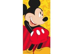 Dětská osuška Myšák Mickey 140x70 cm DOFA0401
