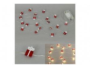 Řetěz s LED světýlky na baterie LED877071