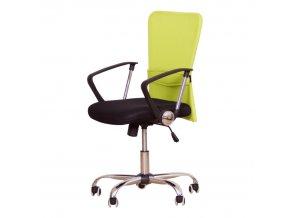 Kancelářská židle AEX - zelená - II.jakost