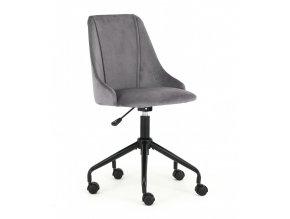 Kancelářská židle BREAK - tmavě šedá