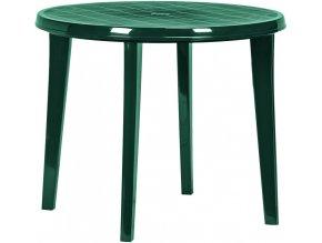 Stůl LISA - tmavě zelená