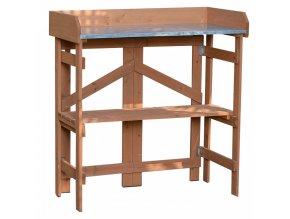 Zahradní příruční stolek ELSIRO - olše