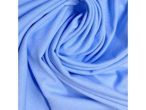 Bavlněné prostěradlo 120x60 cm - světle modré